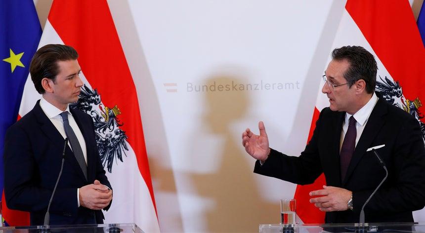 4a2978e15d Crise política na Áustria. Chanceler anuncia eleições antecipadas ...
