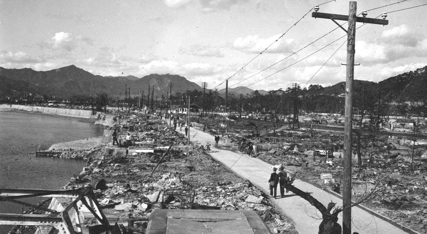 A bomba de Hiroshima foi lançada faz hoje 75 anos