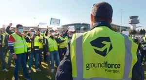 TAP requereu a insolvência da Groundforce