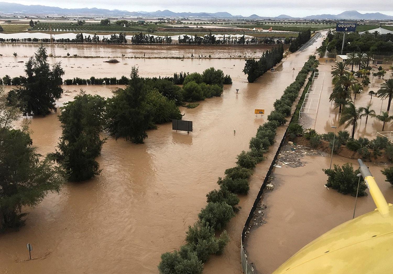 Los Alcázares (Murcia) /Security and Emergencies Bureau via EPA
