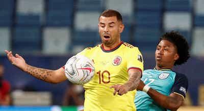 Copa América. Colômbia estreia-se com triunfo sobre o Equador
