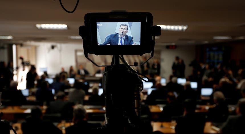"""""""Não tenho nenhum apego pelo cargo em si"""", afirmou o ministro brasileiro da Justiça perante o Senado"""