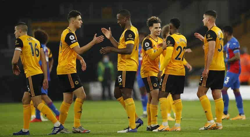 Wolves vencem Crystal Palace com golo de Podence e sobem ao pódio na Premier League
