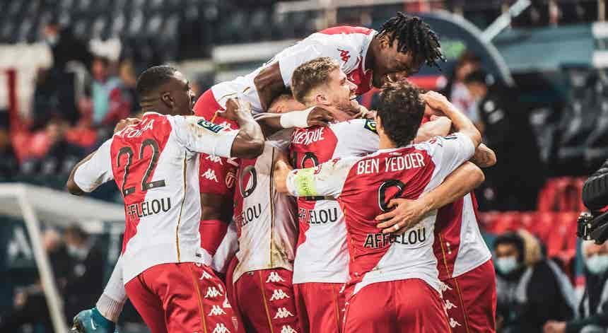 Gelson Martins marca em nova vitória do Mónaco na liga francesa