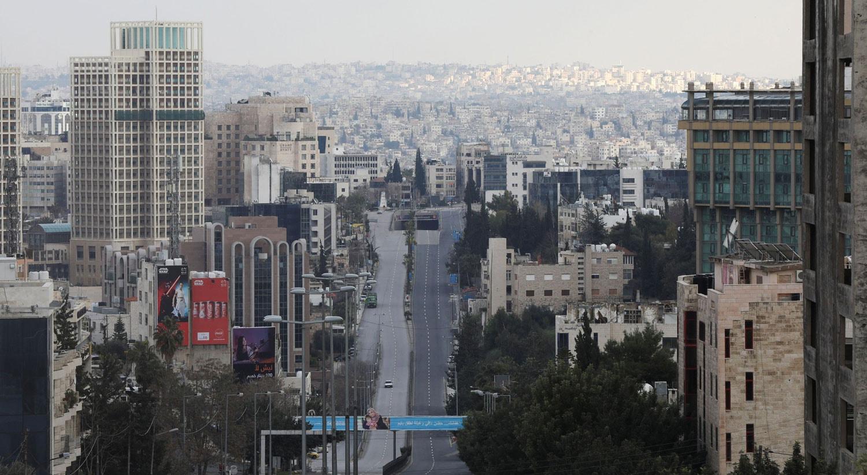 Ruas da capital da Jordânia, Amman / Muhammad Hamed - Reuters