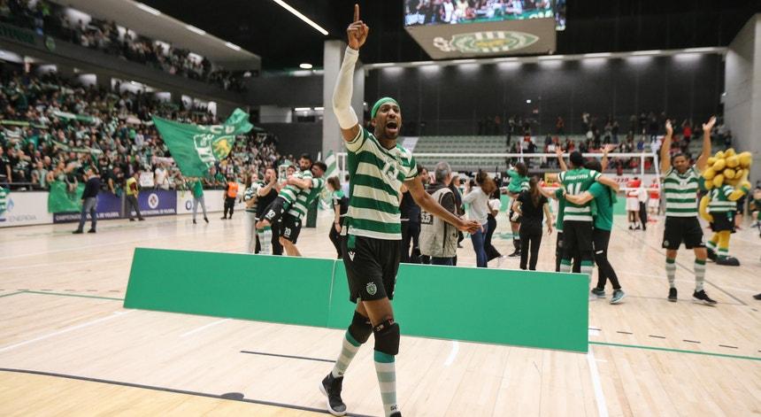 O Sporting vitorioso segue em frente na Taça Challenge de voleibol