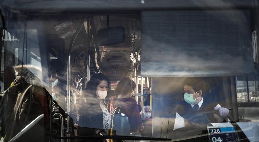 No conjunto das ações realizadas pela GNR e PSP 780 pessoas foram impedidas de viajar nos transportes públicos sem máscaras