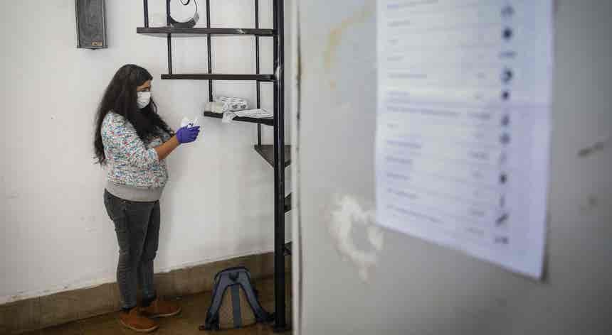 Primeiras eleições em contexto pandémico