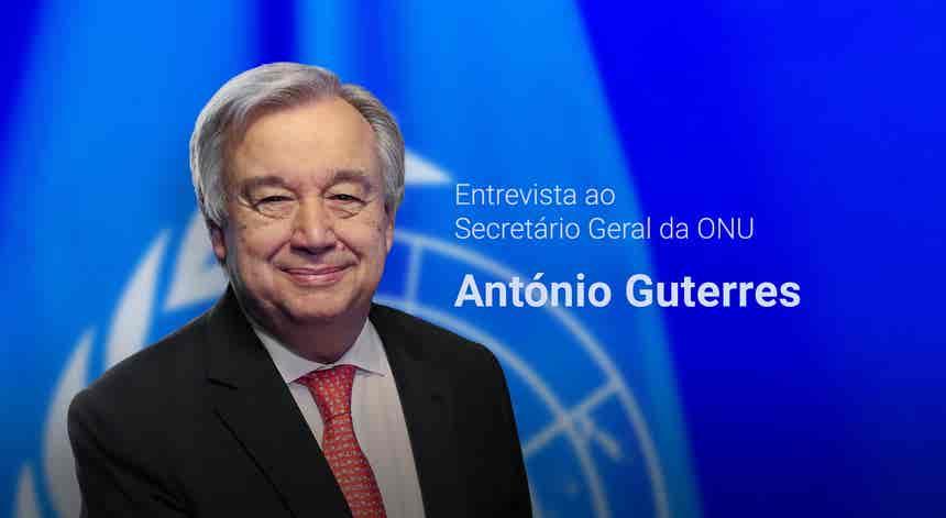 Entrevista ao Secretário Geral da ONU - António Guterres