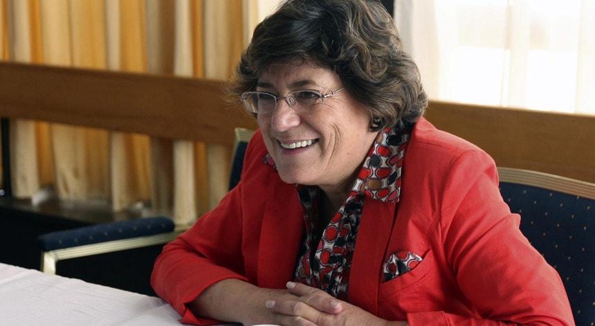 Ana Gomes em maio de 2012, quando era eurodeputada socialista e integrava os comités do Parlamento Europeu para os Negócios Estrangeiros e os Direitos Humanos