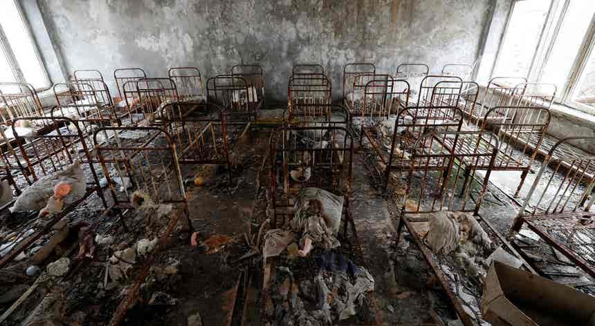 Chernobyl proposta para Património Mundial