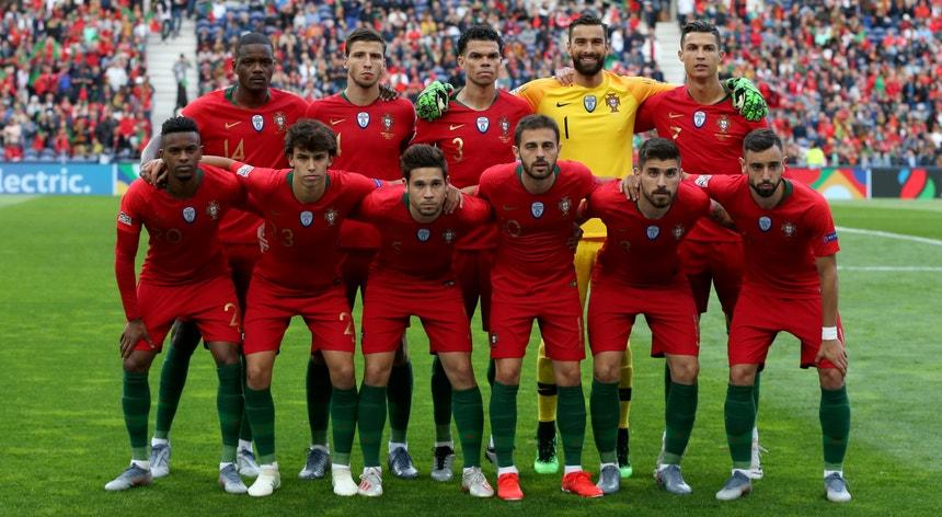 A seleção de Portugal defende o título de campeã na Liga das Nações