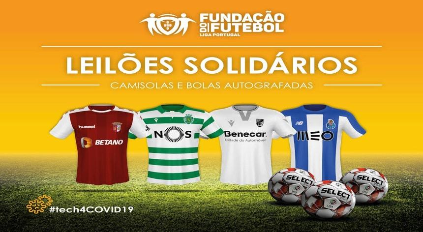 Fundação Futebol leiloa equipamentos para comprar material