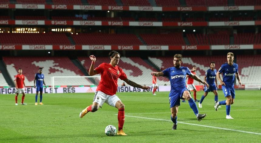Darwin Núñez marcou o golo do triunfo