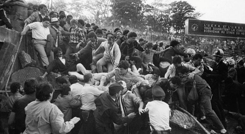 A tragédia no Estádio de Heysel faz esta sexta-feira 35 anos