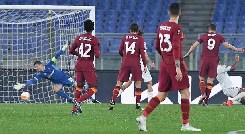 AS Roma - SC Braga, Liga Europa