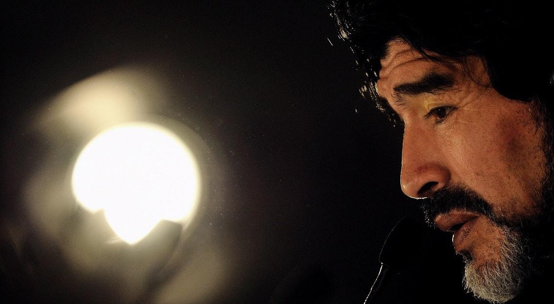 2010. África do Sul. Maradona como treinador   Vassil Donev - EPA