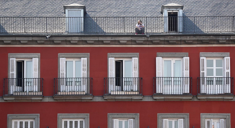 Em Madrid, Espanha / Sergio Perez - Reuters