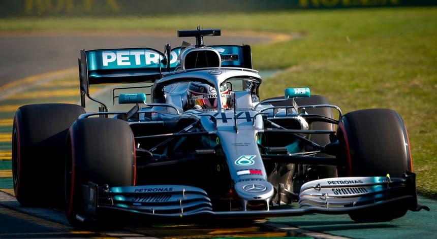 Hamilton foi o mais rápido na China