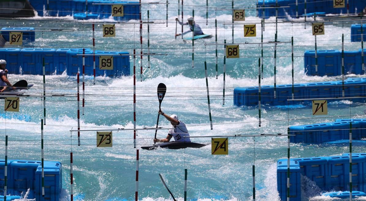 Olympic Kasai Canoe Slalom    Edgar Su - Reuters