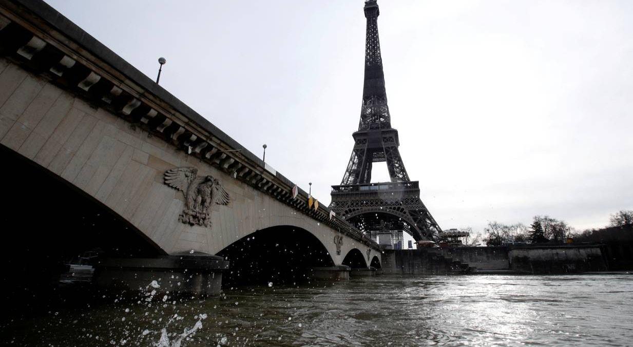 França. Paris, rio Sena  | Gonzalo Fuentes - Reuters
