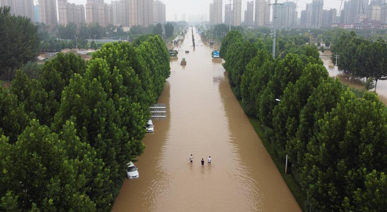 China. Zhengzhou | Aly Song - Reuters