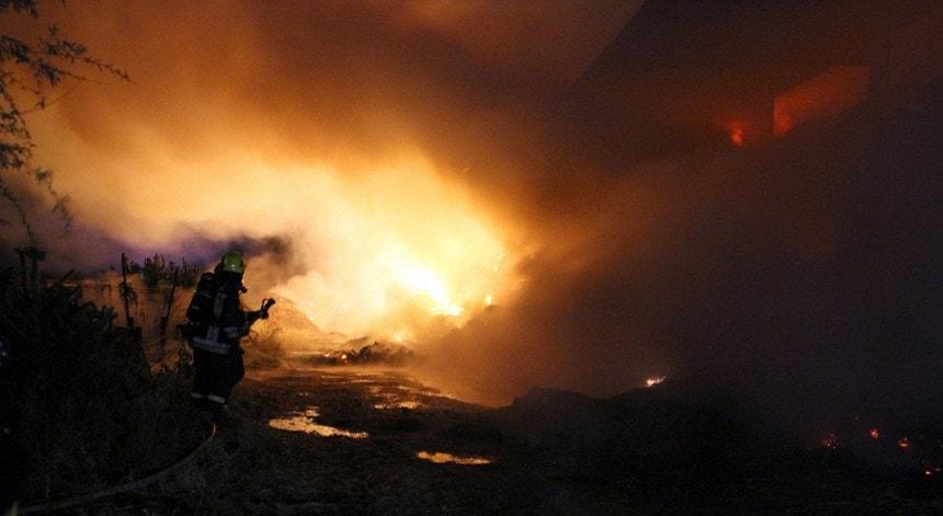 O fogo em Asseiceira está em vias de resolução