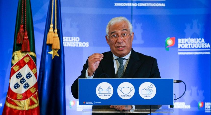 António Costa dia 7 de janeiro de 2020