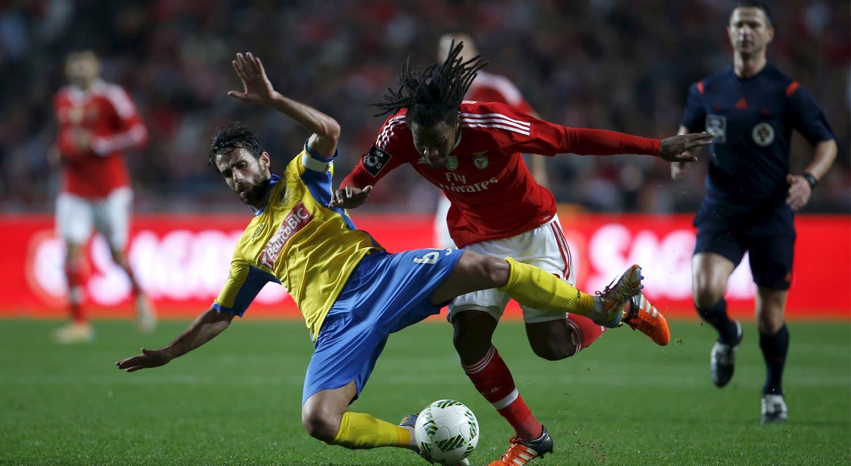 Chegou à equipa principal do Benfica a 30 de outubro de 2015, frente ao Tondela. Desde então, nunca mais largou a equipa principal. Aqui, durante o jogo com o Arouca, a 23 de janeiro.