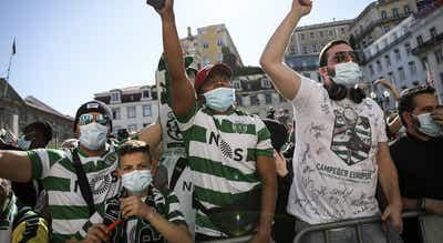 Covid-19. Câmara de Lisboa estuda solução para festejos do Sporting em segurança