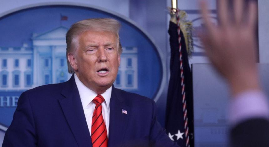 Trump já defendeu por várias vezes que a culpa da violência nas manifestações antirracismo é da má gestão democrata.