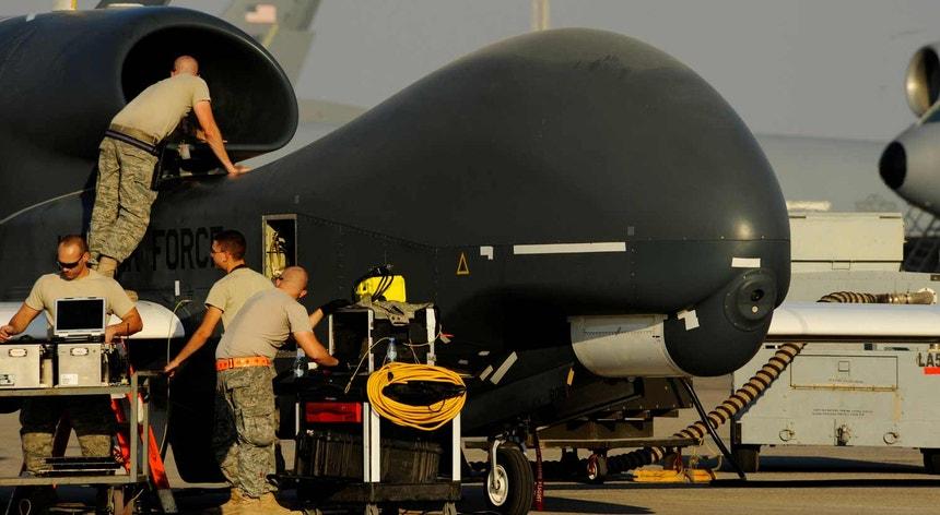 Foi um drone semelhante a este que os iraniano abateram