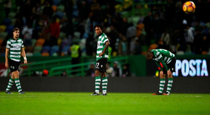 A derrota da equipa do Sporting frente ao Sp. Braga mexeu com a família leonina