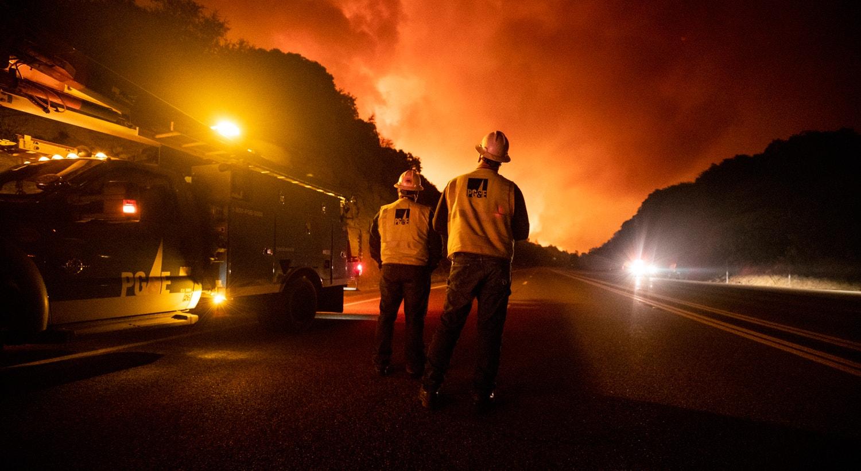 Floresta Nacional da Serra, Califórnia | Etienne Laurent/EPA
