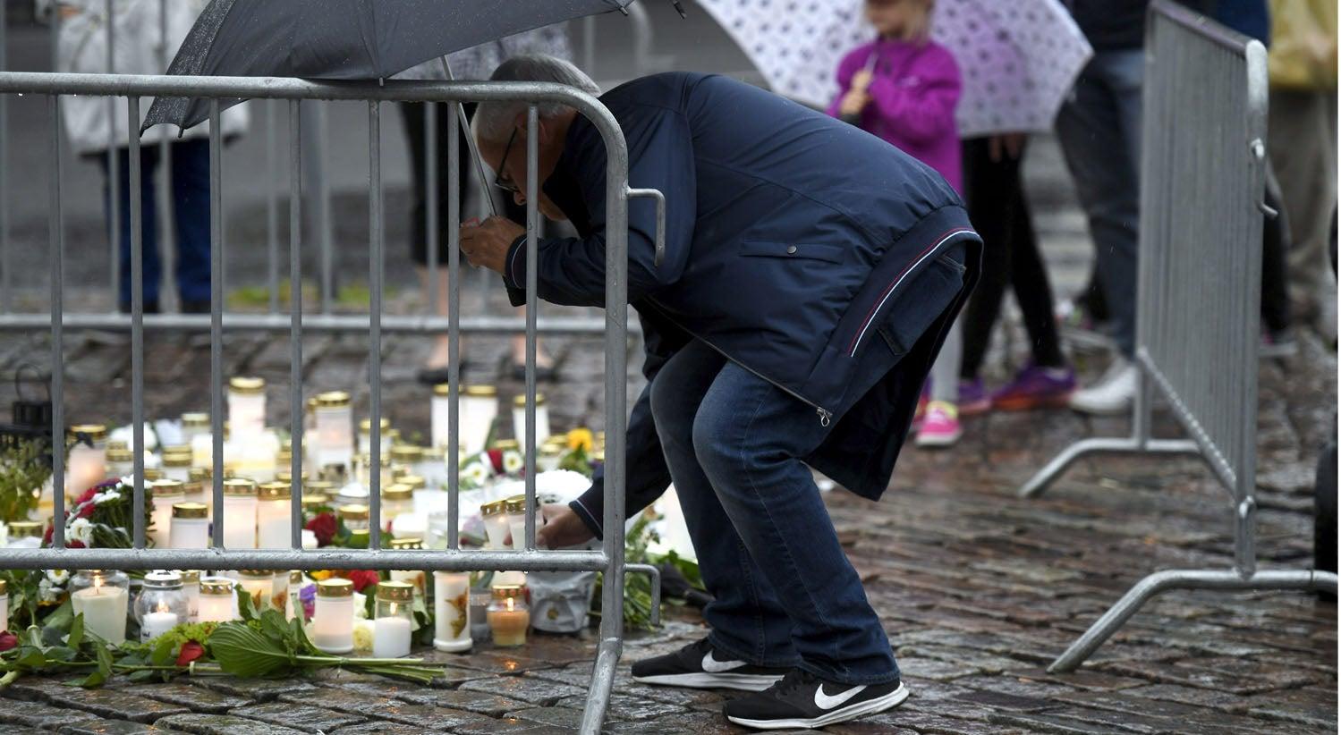 Dois mortos e oito feridos em esfaqueamento em Turku