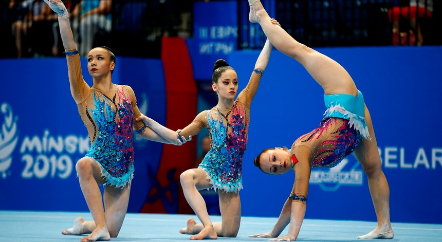 Bárbara Sequeira, Francisca Maia e Francisca Sampaio Maia ganharam mais uma medalha para Portugal