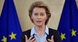 Ursula Von der Leyen apoia por vídeo primeiro-ministro croata sob insígnia da presidência europeia