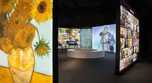 Conheça Vincent Van Gogh em exposição imersiva em Belém