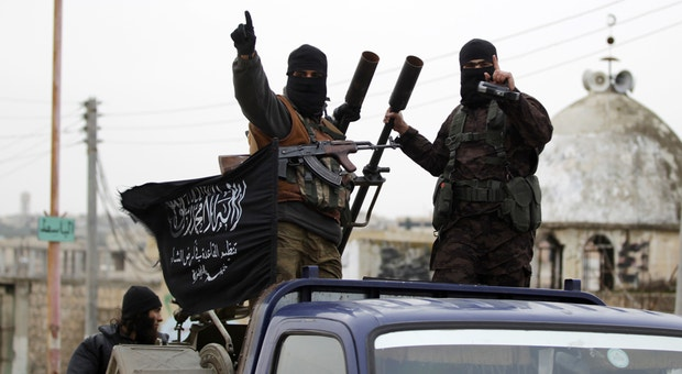 Combatentes sírios da Al Qaeda