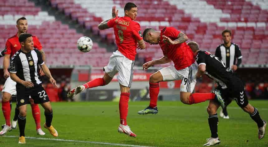 SL Benfica - CD Nacional, I Liga em direto ao minuto
