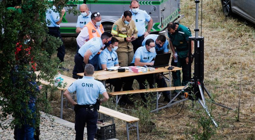 A criança que esteve desaparecida está internada no Hospital de Castelo Branco