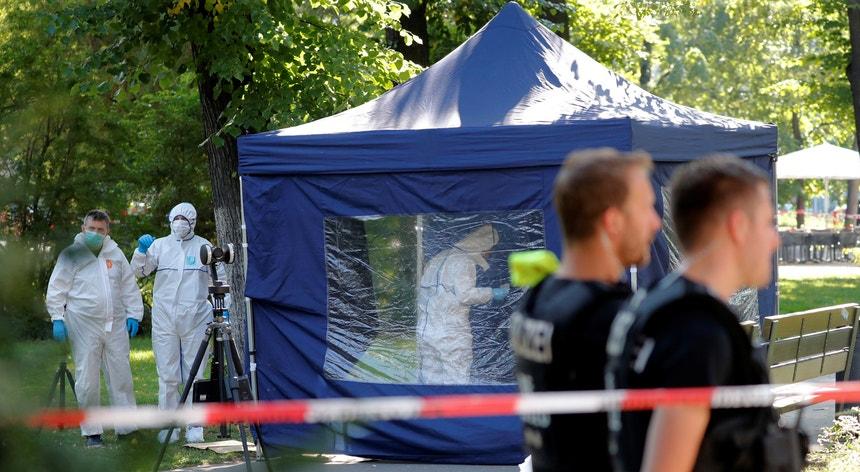 Khangoshvili foi morto à luz do dia com um tiro na cabeça, em agosto deste ano, num parque de Berlim