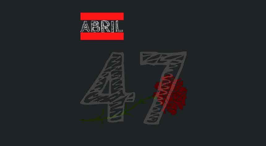 47 anos depois da Revolução de Abril