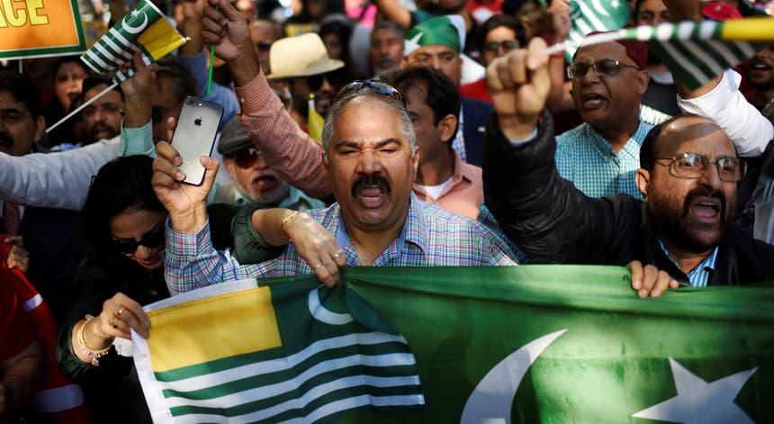 """O 5 de agosto foi considerado """"o dia mais negro da democracia indiana"""", o dia em que a Índia revogou o estatuto especial da Caxemira"""