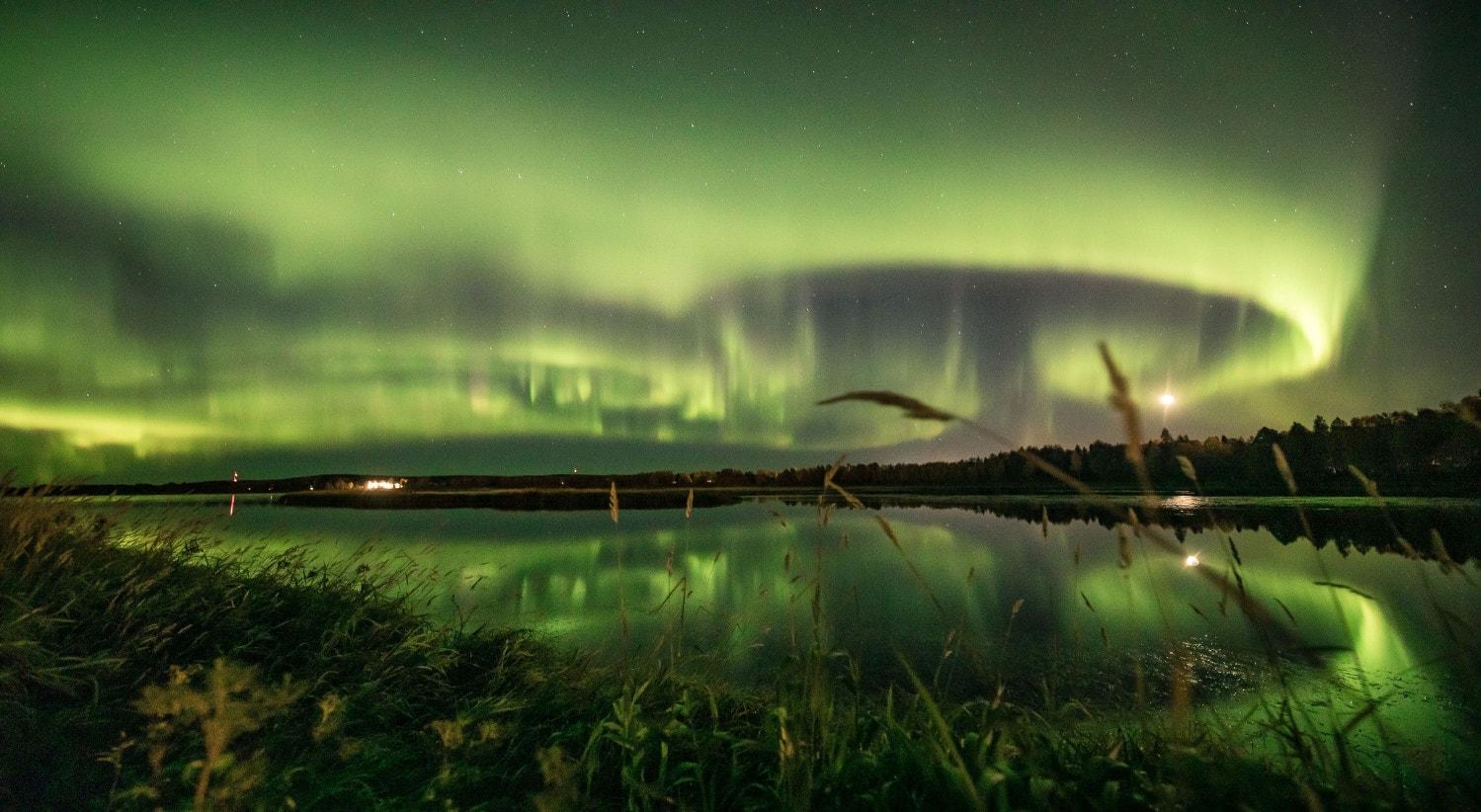 Finlândia, o céu de Rovaniemi em setembro | Alexander Kuznetsov - Reuters