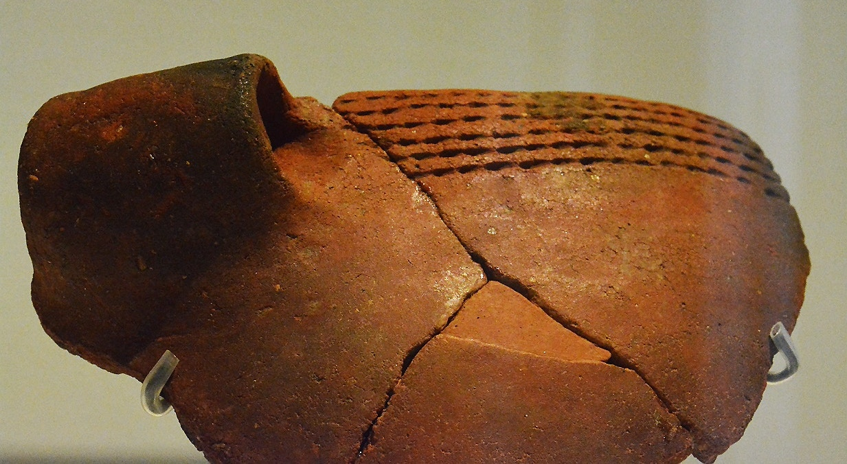 Vaso decorado. Neolítico