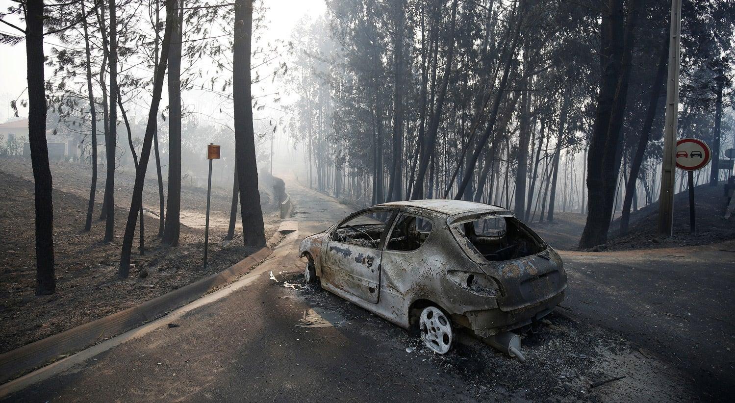 Resultado de imagem para incêndio em pedrogão grande, portugal
