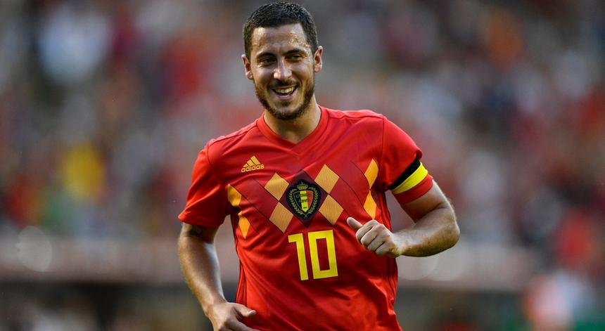 Eden Hazard é o jogador mais emblemático da história do futebol belga