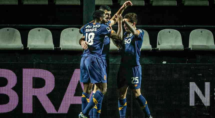 SC Farense - FC Porto, I Liga em direto ao minuto