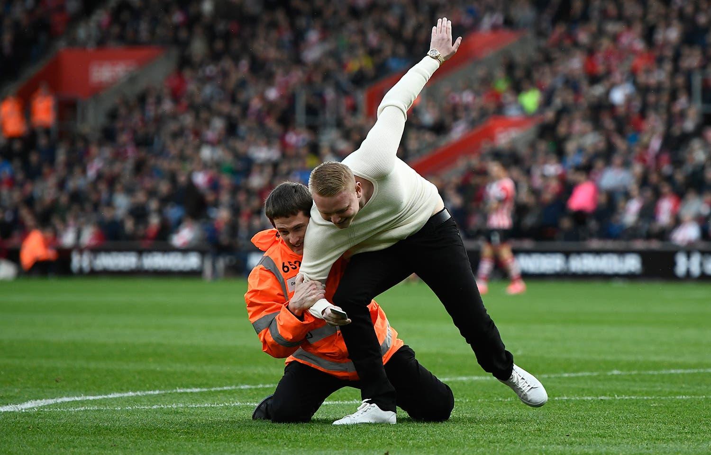No jogo entre Southampton e  AFC Bournemouth em 2017 /Dylan Martinez - Livepic via Reuters
